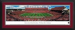 South Carolina Gamecocks - Williams-Brice Stadium - Framed Panoramic Photo