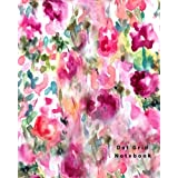 Dot Grid Notebook: 110 Dot Grid pages (Floral)
