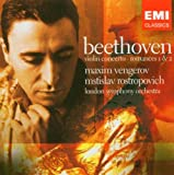Maxim Vengerov: Beethoven - Violin Concerto; Romances 1 & 2 London Symphony Orchestra (LSO)