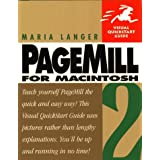 "PageMill 2 for Macintosh: Visual Quickstart Guidevon ""Maria Langer"""