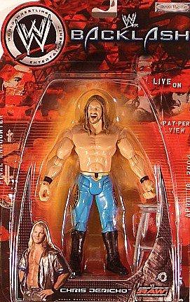 Buy Low Price Jakks Pacific WWE PPV Backlash Final Encounter Action Figures: Chris Jericho (B004QCXUCI)