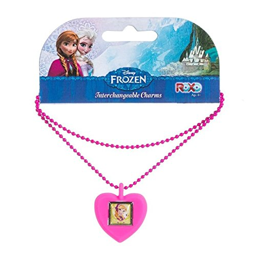 Disney Frozen Anna Interchangeable Kid's Charm Necklace - 1