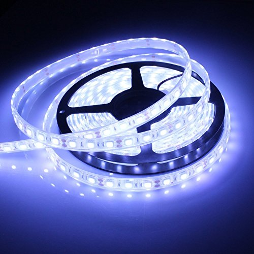Wit-Lighting Ip68 16Ft 5050 Led Strip Cool White Light Waterproof Led Flexible Light 12V 300 Smd Underwater