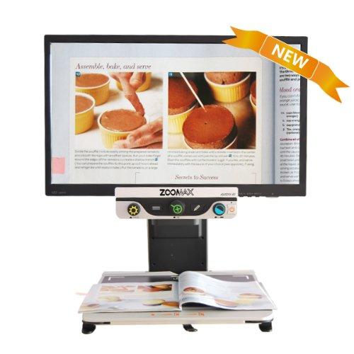 Zoomax - Desire Hd 23 Inch Widescreen Led Color Auto Focus Video Magnifier