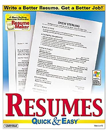 Resumes Quick & Easy 5.0