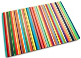 Joseph Joseph Toughened Glass Worktop Saver (Thin Stripes)