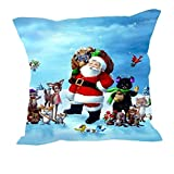 MeSleep Merry Christmas Cushion Covers In Digital Print - B018K9J4M2