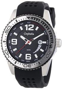 Orphelia Herren-Armbanduhr XL Analog Quarz Silikon OR53670644