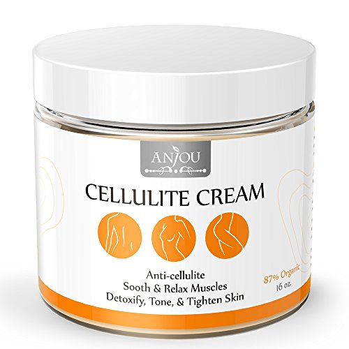 anjou cellulite cream 16 oz with l carnitine anti cellulite muscle relaxation for yoga. Black Bedroom Furniture Sets. Home Design Ideas