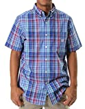 Chaps Men's Millbrook Plaid Short Sleeve Woven