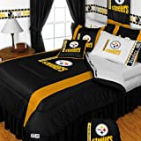 NFL Pittsburgh Steelers- 5pc BED IN A BAG - Queen Bedding Set at Amazon.com