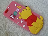 DIA® DISNEY WINNIE THE POOH STANDING SERIES SILICONE PHONE CASE COVER FOR APPLE IPHONE 6 PLUS