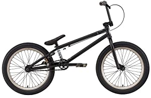 Eastern Bikes Growler Bike (Matte Black, 20-Inch BMX)