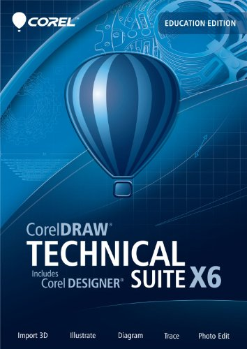 CorelDRAW Technical Suite X6 Education Edition [Download] (Corel Draw Technical Suite compare prices)