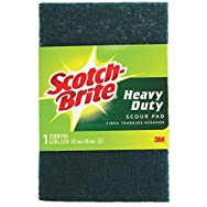 3M 220 Scotch-Brite Heavy Duty Scouring Pad-SCOTCH-BRITE 1 PACK PAD