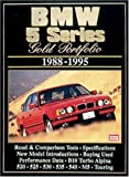 R.M. Clarke BMW 5 Series Gold Portfolio1988-1995 (Brooklands Books Road Test Series): Collection of Contemporary Road Tests, Comparison Tests and Performance Data