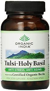 Organic India Tulsi Holy Basil, 90-Count