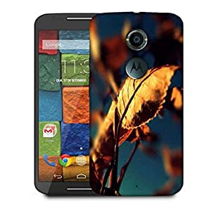 Snoogg Autumn Leaves Designer Protective Phone Back Case Cover For Moto X 2nd Generation