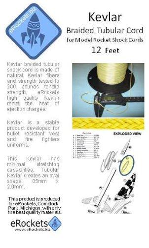 eRockets 200# Kevlar 12 foot piece
