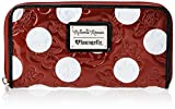 Disney Minnie Polka Dot Zip Around Wallet
