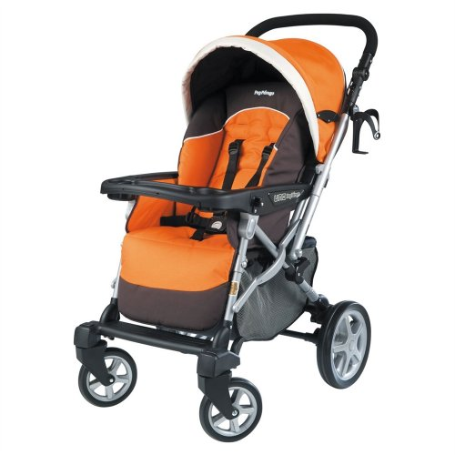 Peg-Perego 2010 Uno Stroller, Tropical back-765603
