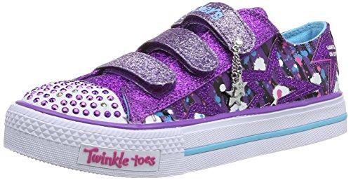 skechers-shuffles-glitter-n-glitz-sneakers-basses-fille-violet-violet-turquoise-32-eu-uk-child-13-en