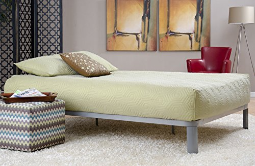 Lowest Price! Instyle Furnishings' Gray Lunar Platform Bed Available in Twin, Full, Queen, and King ...
