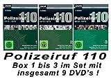 Polizeiruf 110 - Box  1 - 3: 1971-1974 (DDR TV-Archiv) (9 DVDs)