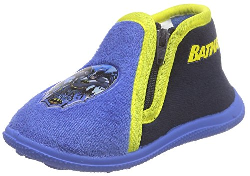 BatmanAGENAIS - Pantofole alte con imbottitura pesante  Bambino , Blu (Blau (Navy/Blue)), 20