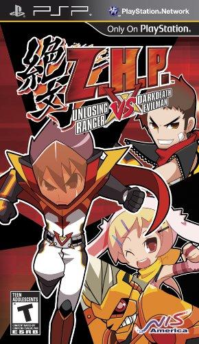 ZHP Unlosing Ranger VS Darkdeath Evilman Game PSP
