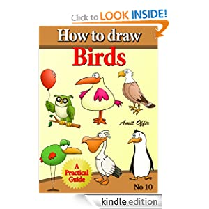 How to Draw Birds (how to draw comics and cartoon characters)