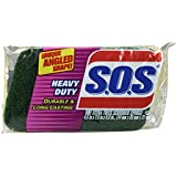 S.O.S. Heavy Duty Scrubber Sponge (Pack of 12)