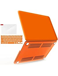 Go Crazzy Macbook Pro 13-Inch With Retina Display Case Cover {ORANGE} Rubberized Hard Case Cover For Macbook Pro...
