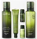 Puretem Purevera Facial Skin Care 2 Items Set (100% Organic Aloe Vera)