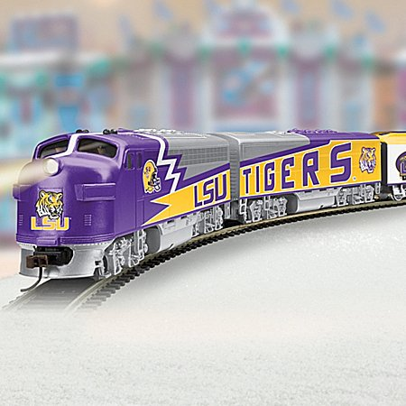 Louisiana State University Tigers Express Train Collection - Subscription Plan
