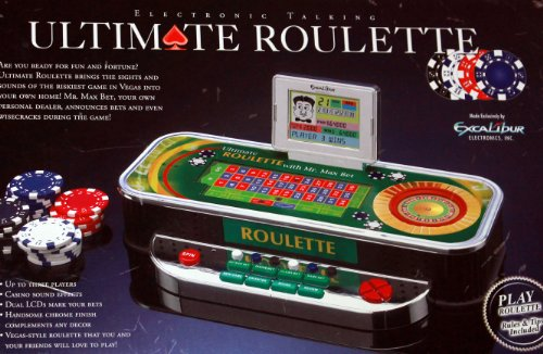 Electronic Talking Ultimate Roulette Game with Mr. Max Bet