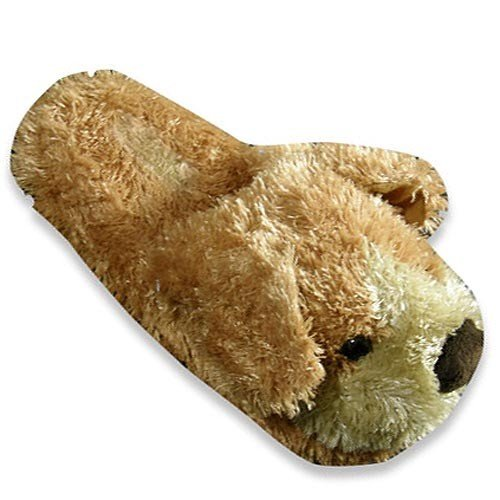 Cheap Tru-Fit – Womens Slide Dog Slipper, Tan 27927 (B0064R5AAI)
