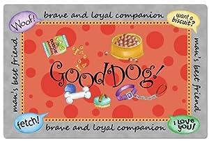 CounterArt Good Dog Pet Placemat from Counter Art