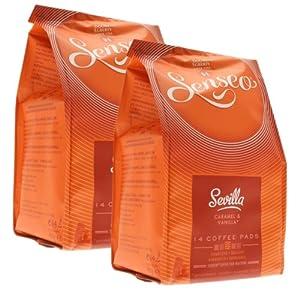 Buy Senseo Sevilla, Caramel & Vanilla, Design, Pack of 2, 2 x 14 Coffee Pods by Douwe Egberts