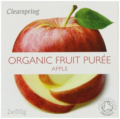 Organic Apple Fruit Puree 2 x 100 g (Pack of 12)