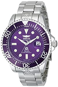 Invicta Men's 16040 Pro Diver/Grand Diver Analog Display Japanese Automatic Silver Watch