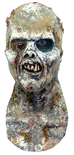 Fulci Zombie Mummy Undead Zombie Latex Adult Halloween Costume Mask