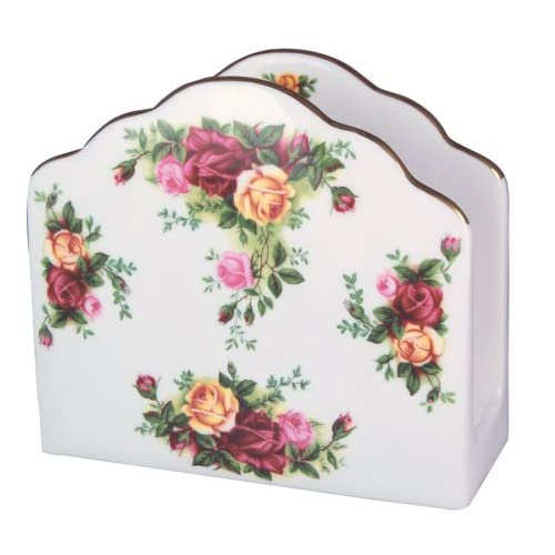 Amazon.com: Royal Albert Old Country Roses Napkin Holder: Kitchen