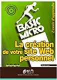Creation votre site web perso (basic micro)