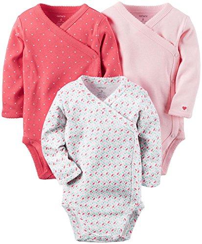 Carter's Baby Girls Multi-pk Bodysuits 126g252, Pink, 3M