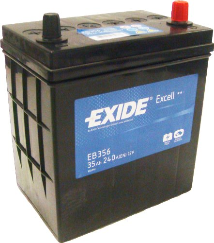 Exide Excell EB356 35Ah Autobatterie wartungsfrei