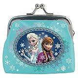 Elsa Anna Disney Frozen la reine des neiges petit porte monnaie avec fermoir en fer