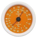 TANITA 温湿度計 オレンジ TT-515-OR