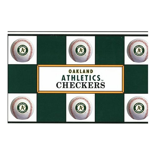 Big League Promotions Oakland Athletics Checkers at Amazon.com