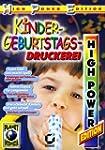 Kindergeburtstags-Druckerei, 1 CD-ROM...